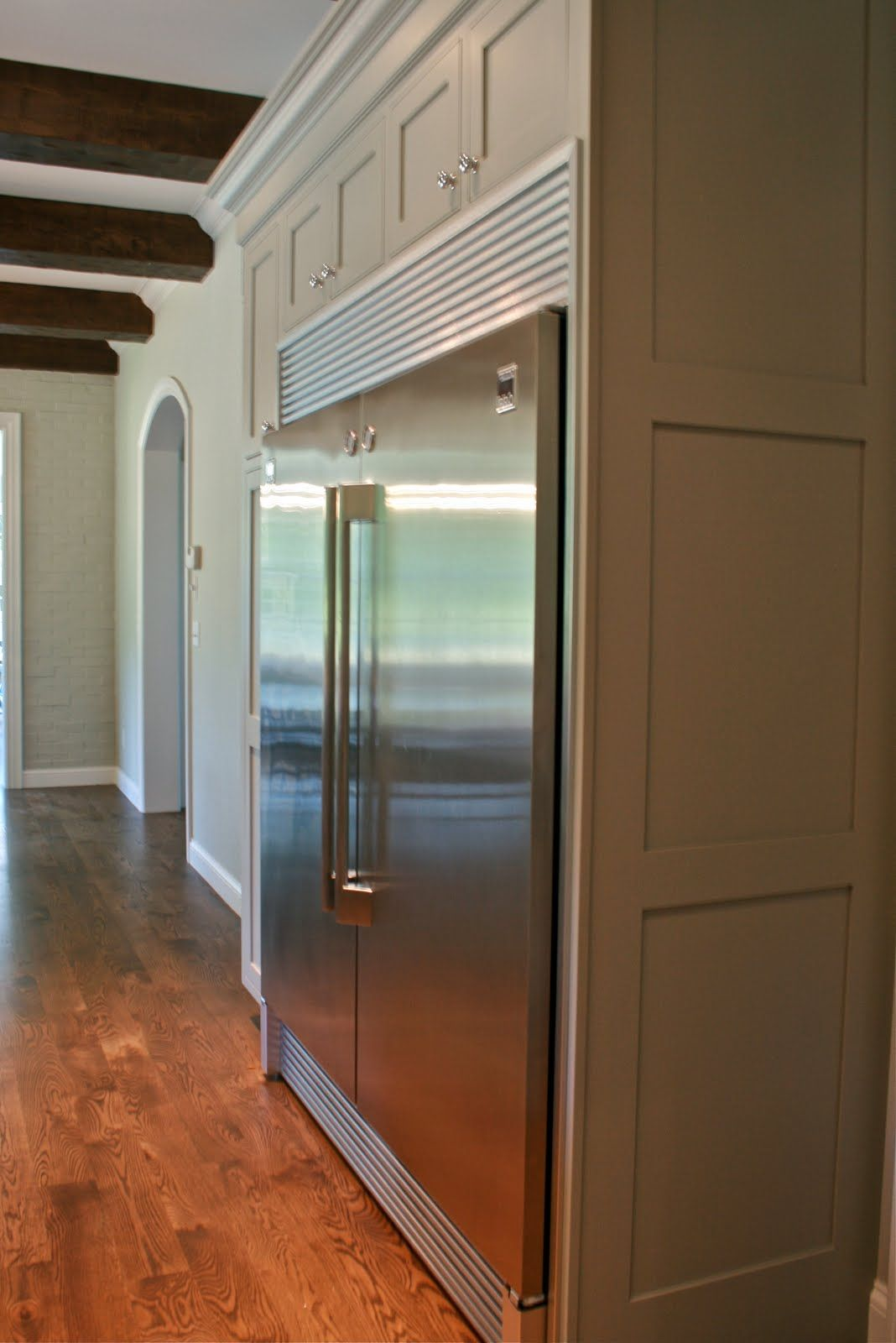 Full Size Fridge And Freezer Placed Side By Side Kitchen Inspirations Kitchen Refrigerator Home