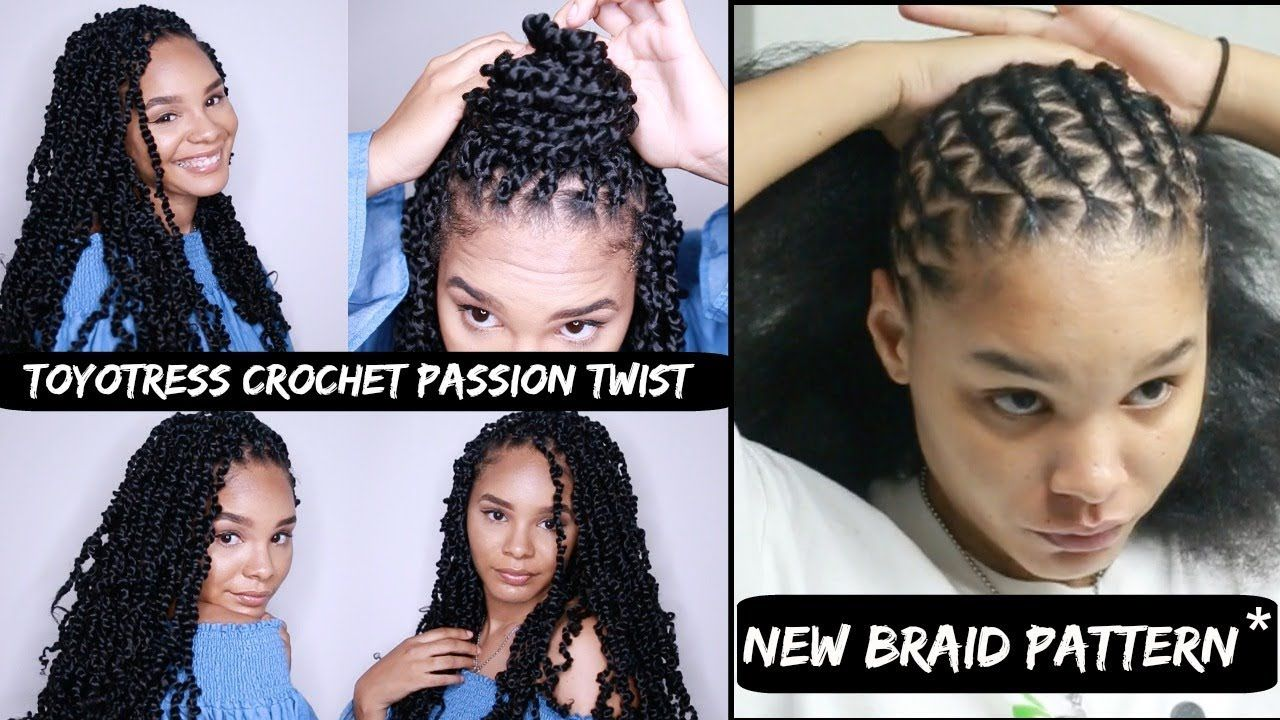 Crochet Passion Twist Tutorial New Braid Pattern Toyotress