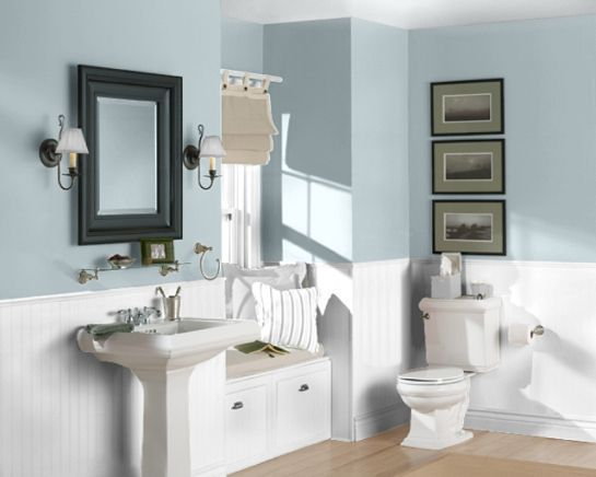 Image Result For Sleepy Blue Sherwin Williams Small Bathroom Colors Small Bathroom Paint
