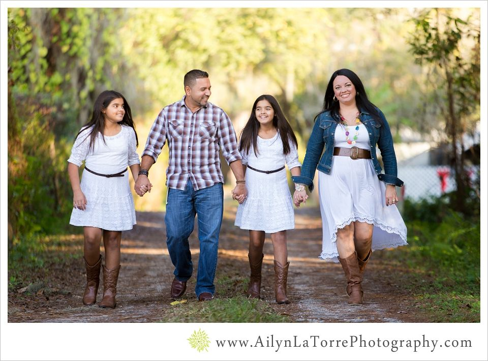 Country family photo ideas
