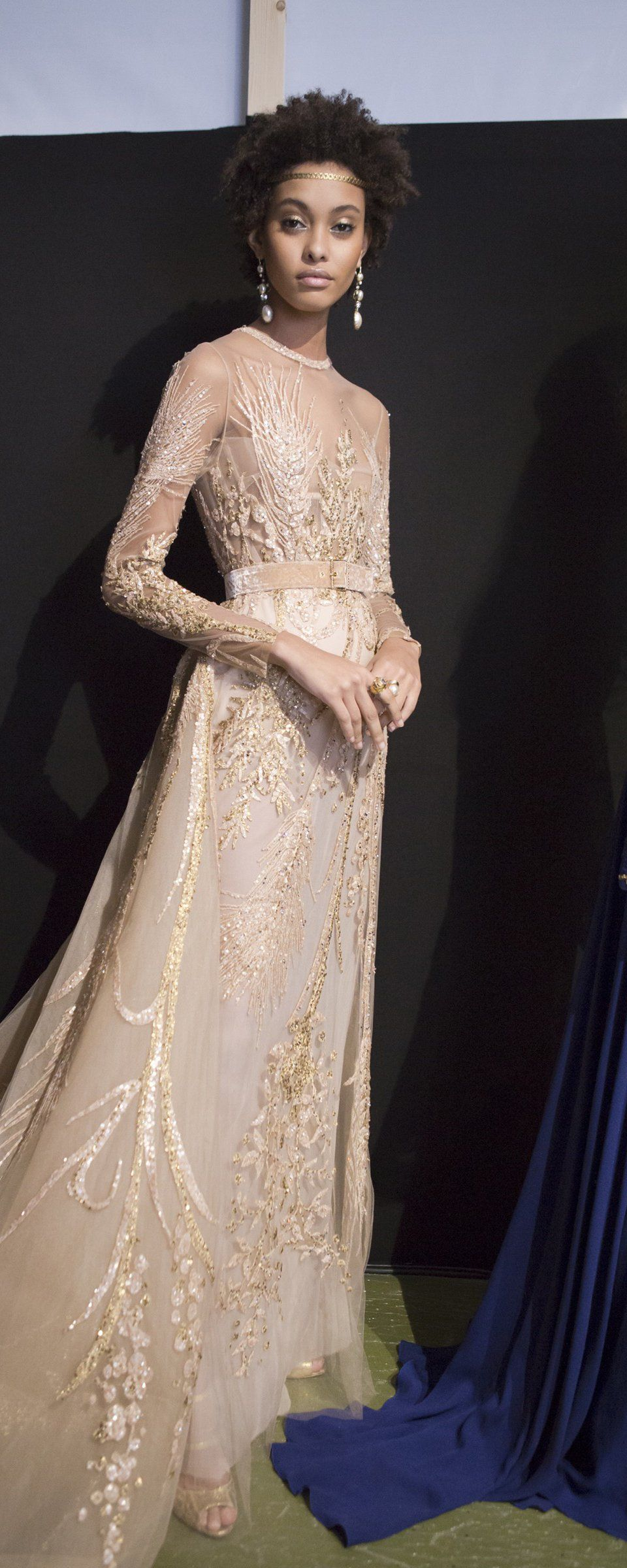 Elie Saab Fall-winter 2017-2018 - Couture - http://www.orientpalms.com/Elie-Saab-6842 - ©ImaxTree