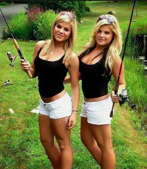 Bikini chicken hunting