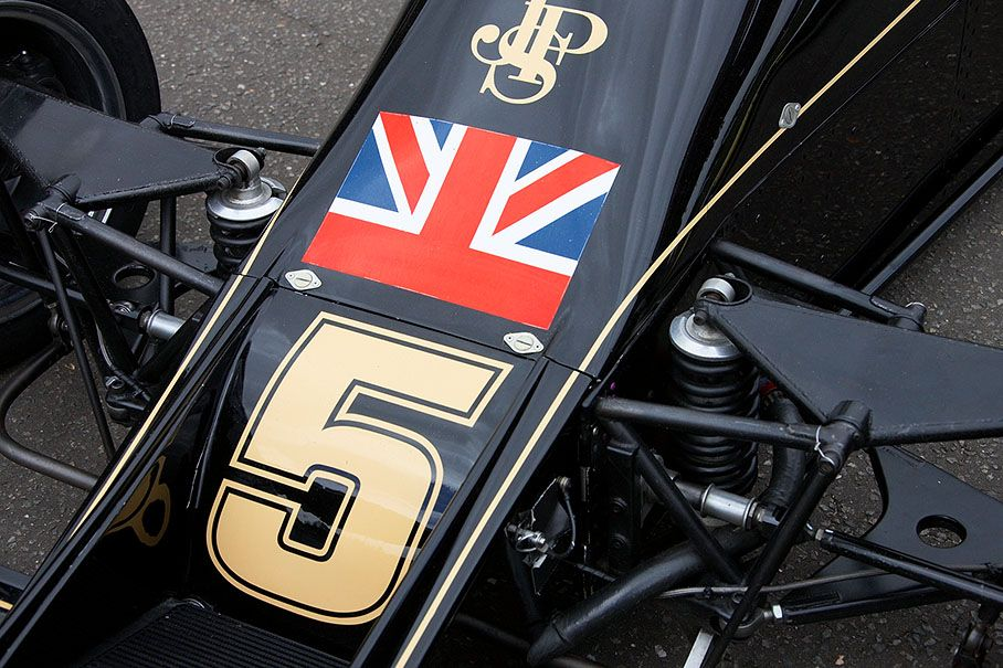Lotus 77 JPS Lotus, Classic racing, Lotus f1