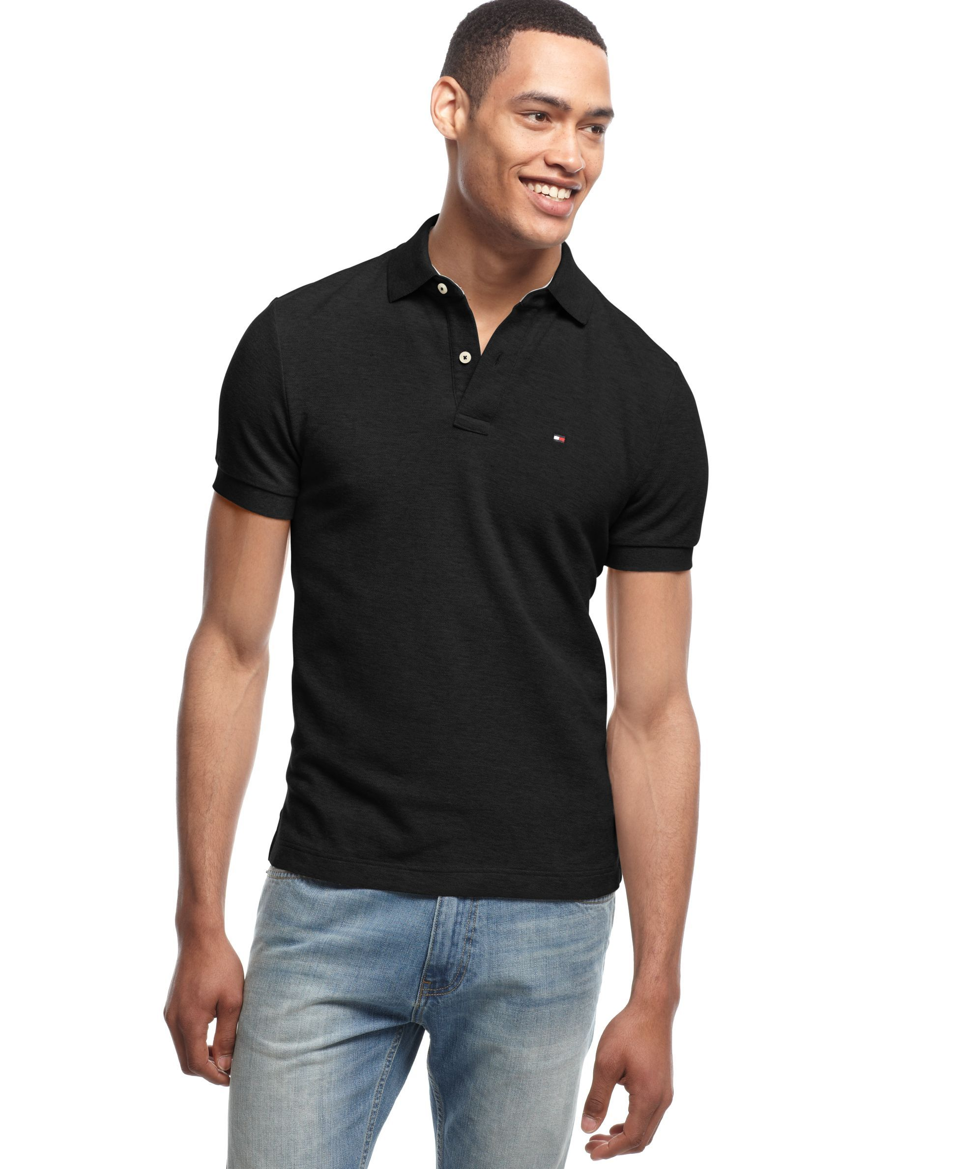 eb7cbdea Men's Custom-Fit Ivy Polo | Products | Tommy hilfiger, Polo, Polo outfit