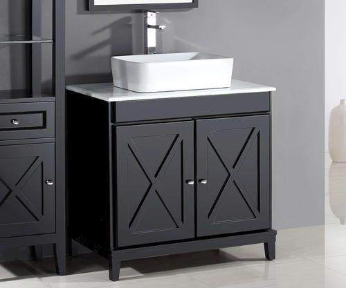 Ove Decors 32 W X 22 D Aspen Vanity And Vanity Top With Vessel Sink Vanity Bathroom Vanity Tops Bathroom Vanity Cabinets