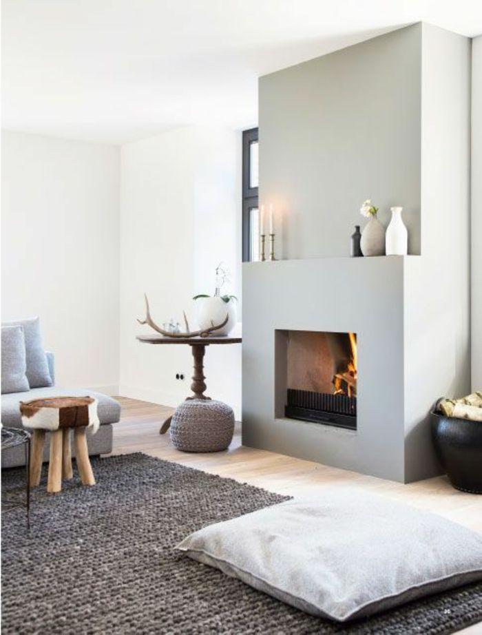 Choisir le meilleur tapis scandinave avec notre galerie belle meubles et gris for Salon gris scandinave