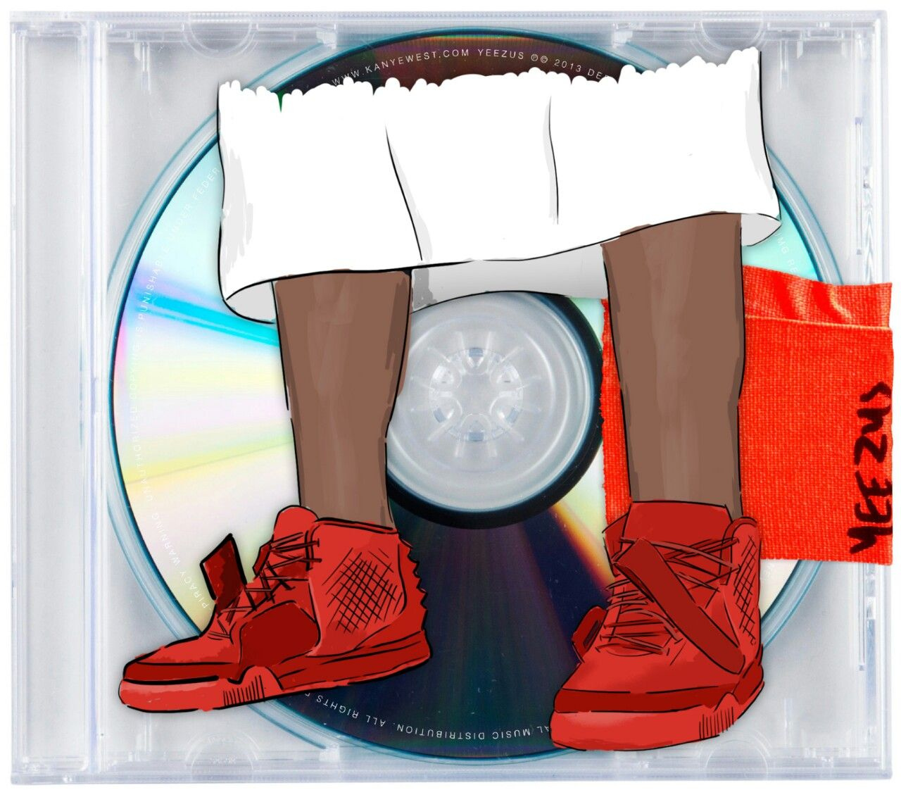 Yeezus 14 Rolling Out Kanye West Yeezus Yeezus Cover Art Design
