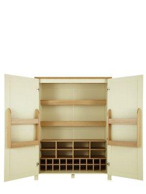 Westminster Larder Storage Unit Very.co.uk  sc 1 st  Pinterest & Westminster Larder Storage Unit Very.co.uk | Home improvement ...
