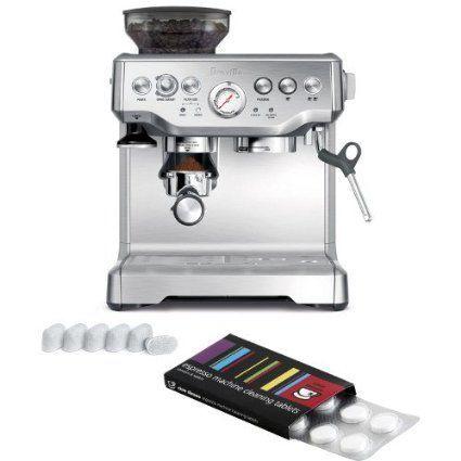 Maquina Breville Bes870xl Barista Expreso Espresso Con Filtros De Bonificacion Y Pas Best Home Espresso Machine Breville Espresso Machine Home Espresso Machine