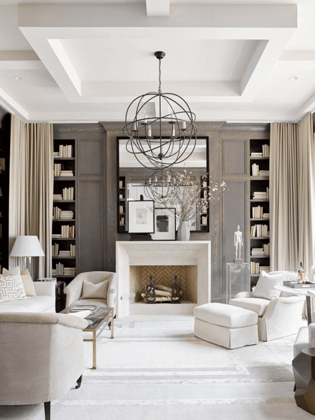SHERWIN WILLIAMS POISED TAUPE Home living room, Living