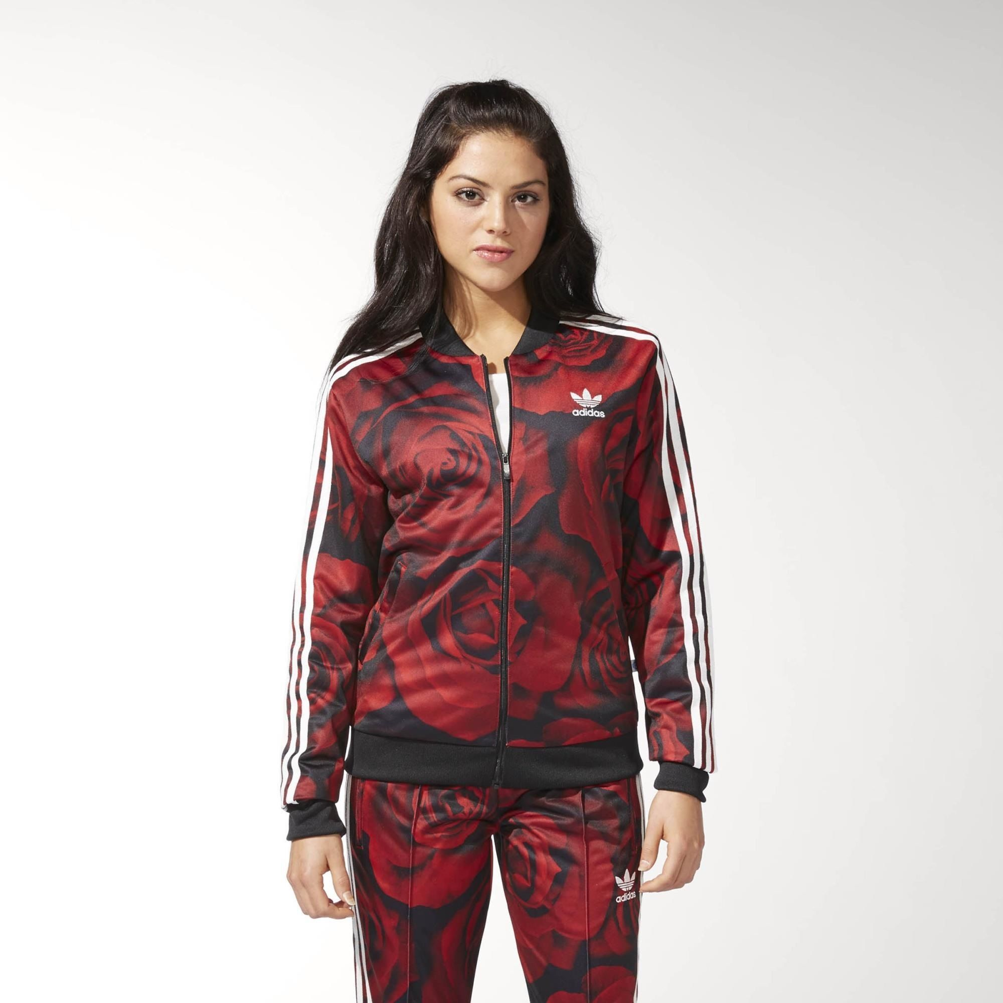 e68e9e1d47de part of the adidas streetwear cool gang - Red Clash Track Jacket ...