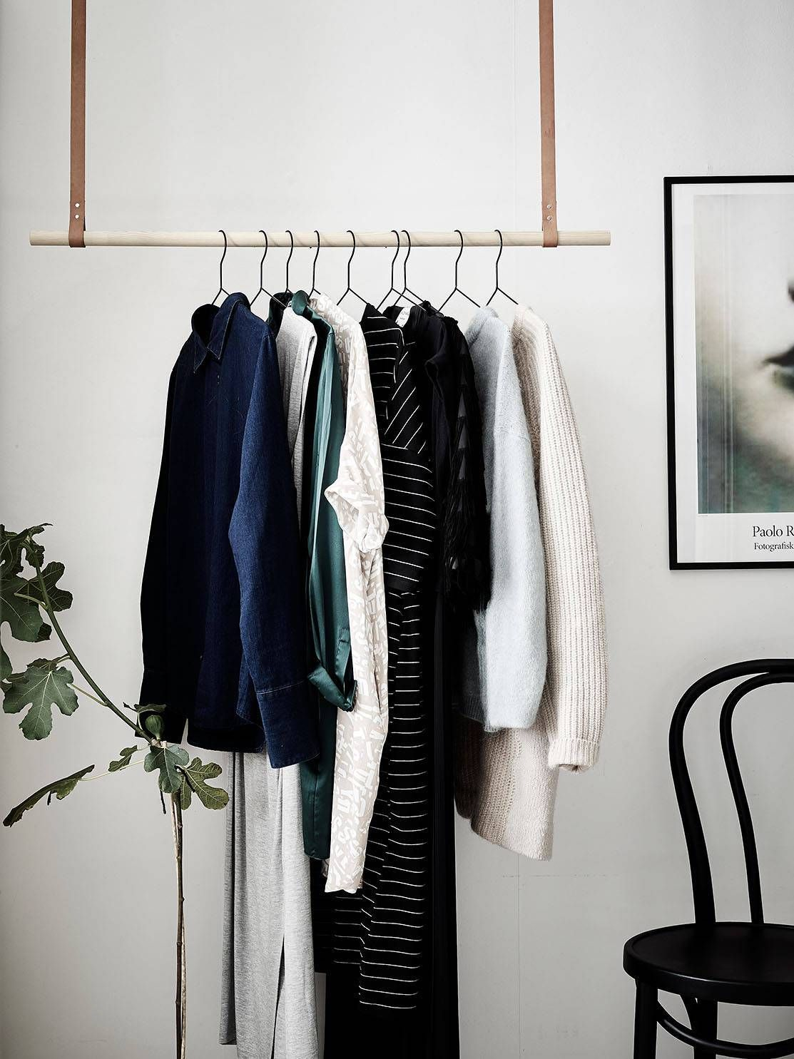 Clothes rack idea for the entry cocolapinedesign couch
