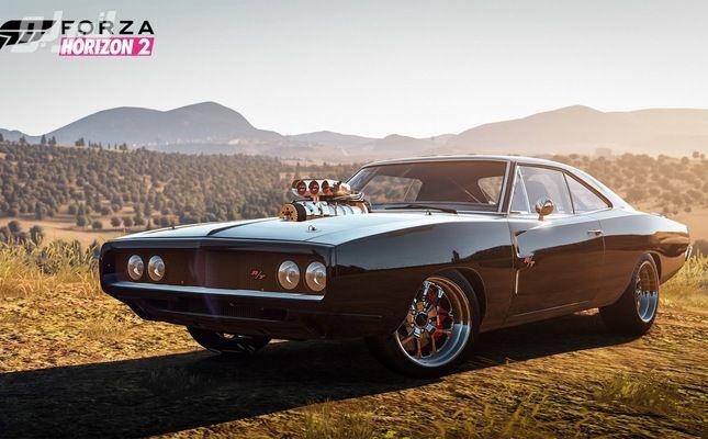 فيديو وصور سيارات فيلم فيوريوس 7 تنضم للعبة فورزا هورايزن 2 Diesel Cars Dodge Charger Cars Movie