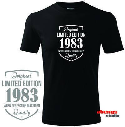 pánske tričko pre oslávencov - LIMITED EDITION + rok narodenia podľa vašeho želania