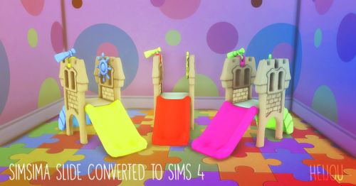 Toddler slide | sims addict | Sims 4 toddler, Sims 4