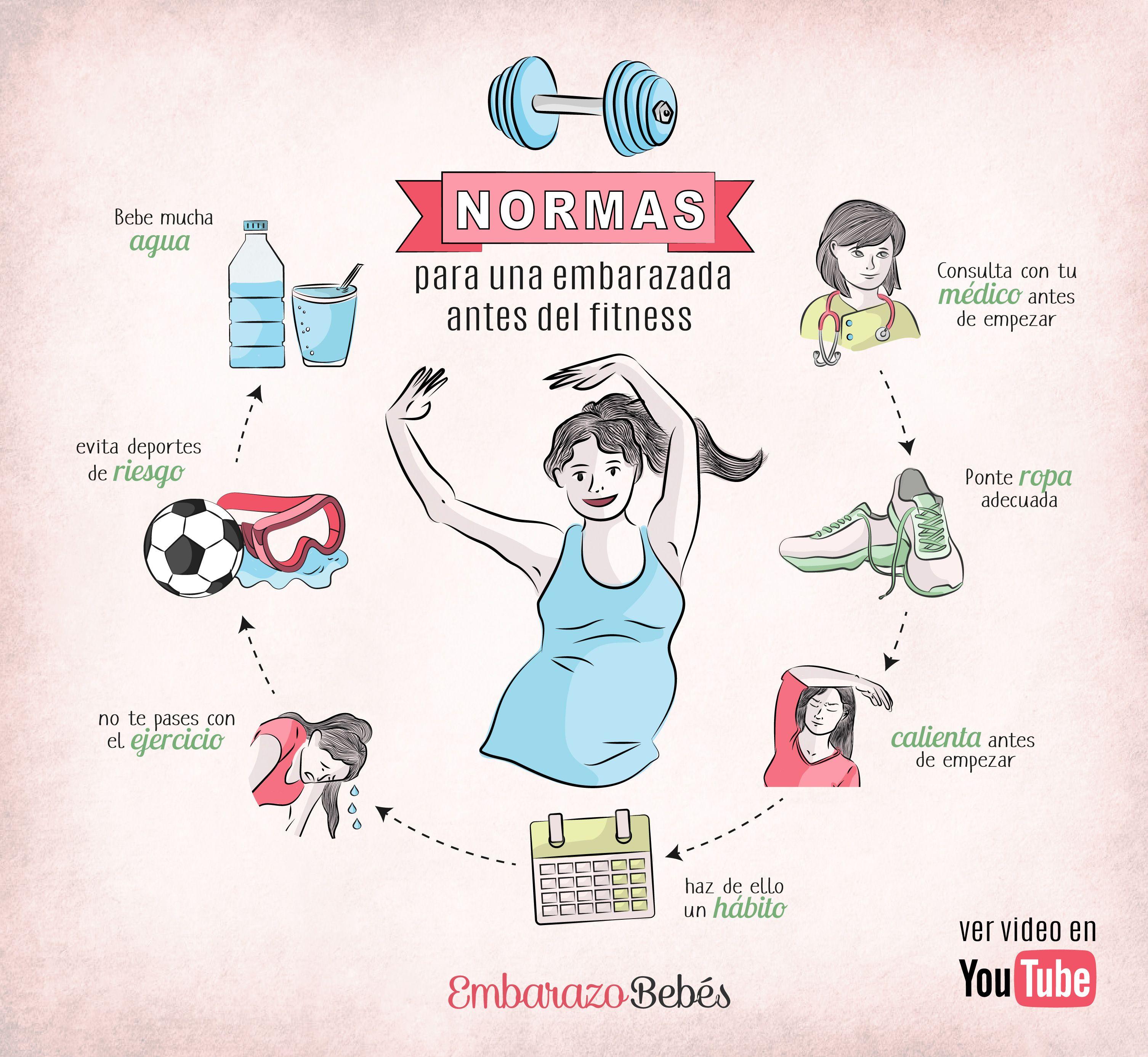 ejercicios para evitar nauseas embarazo