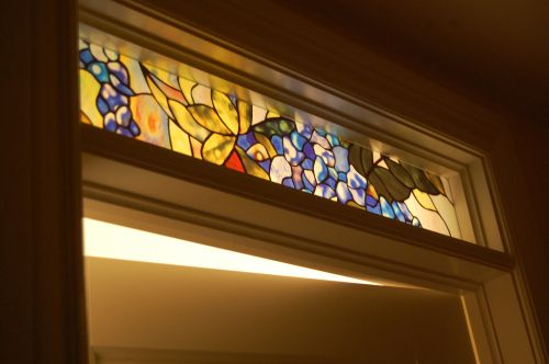 A Little Light Stained Glass Door Door Glass Design Stained Glass