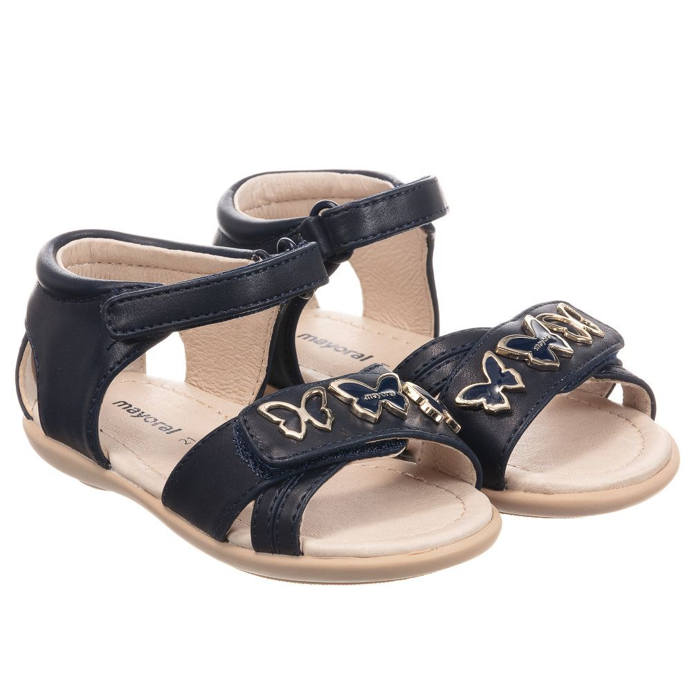 85d70710b2d8 Mayoral - Girls Faux Leather Sandals
