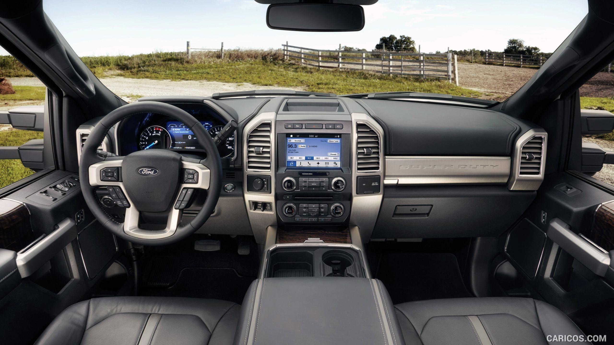 2017 Ford F 450 Super Duty Platinum Crew Cab Interior Hd