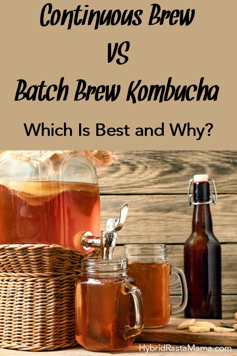 Continuous Brew Kombucha Recipe Kombucha, Continuous