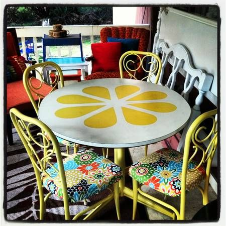 Best 25 Yellow Kitchen Tables Ideas On Pinterest Yellow