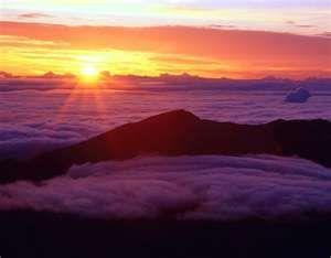 Haleakala Sunrise (Hawaii)