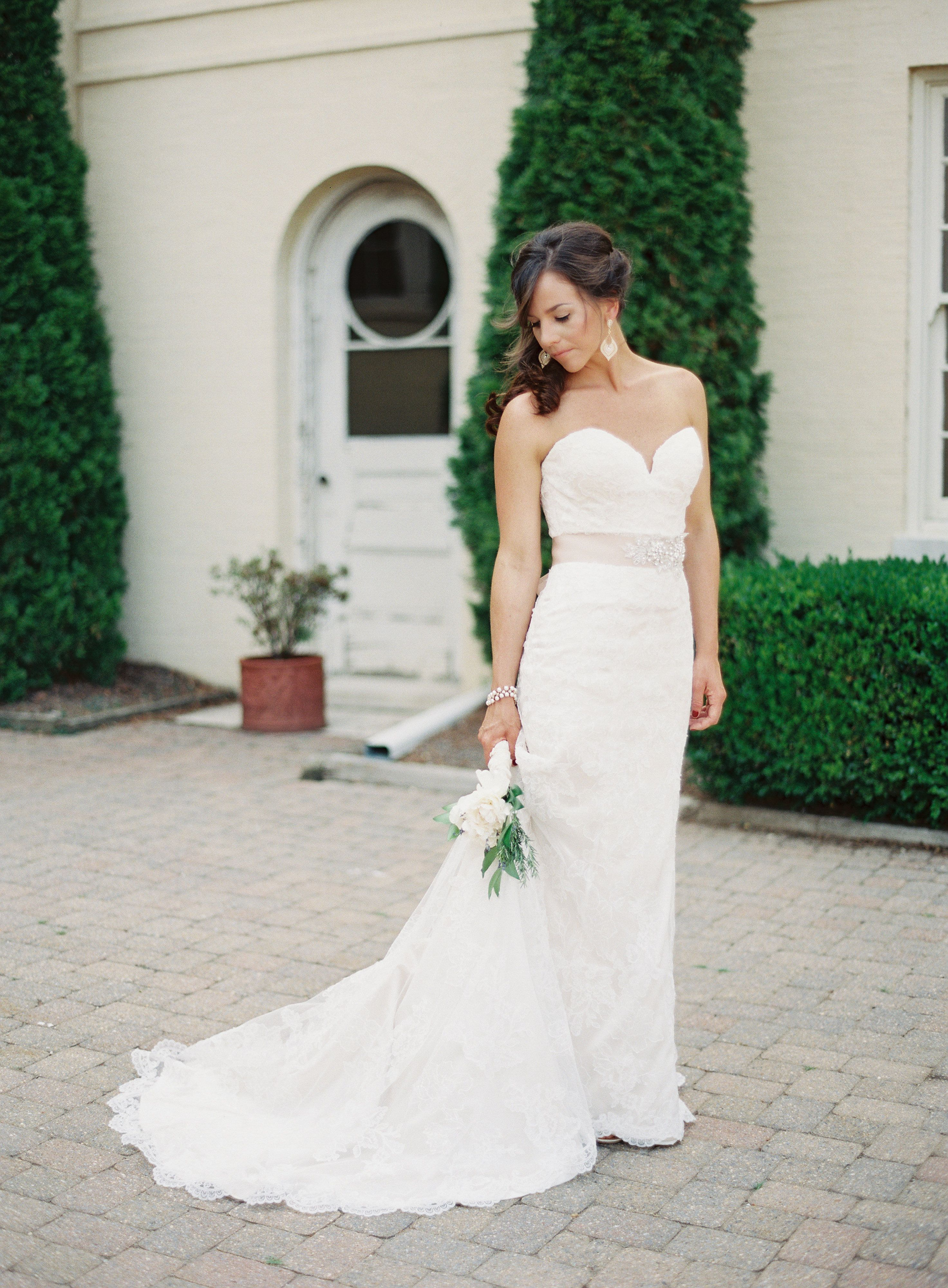 Dresses for summer wedding reception  Rustic Glam Summer Wedding at Evergreen Museum  Library  Stella