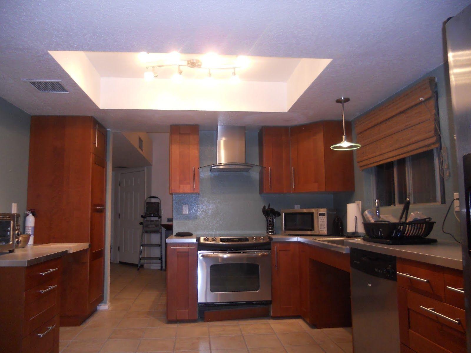Led Kitchen Ceiling Lighting Ideas