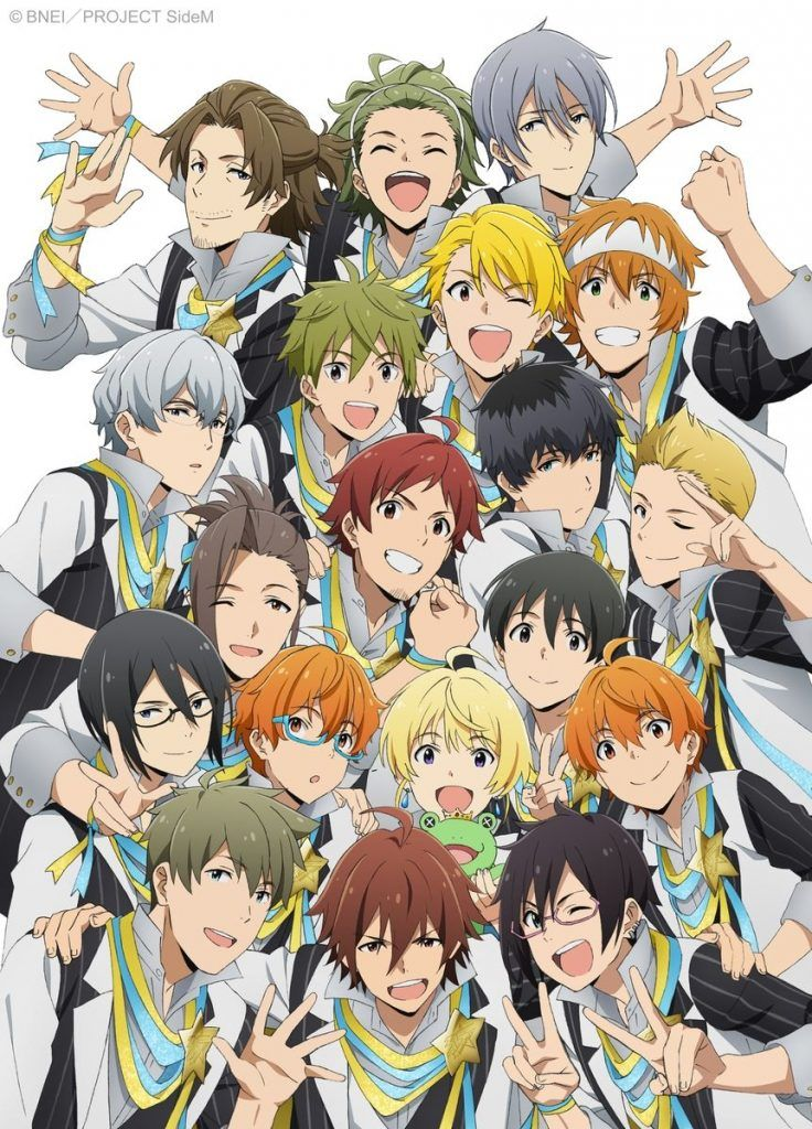 Idolmaster SideM Announces Broadcast Schedule and Special