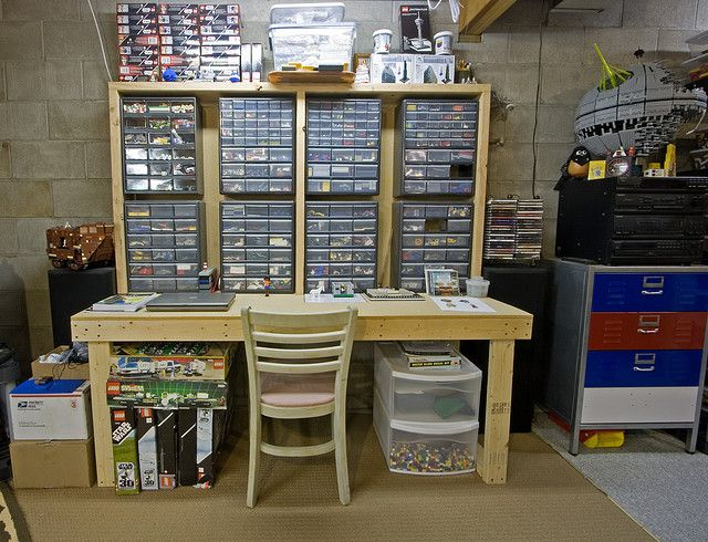 Dave's Workbench | Legos, Lego storage and Storage ideas