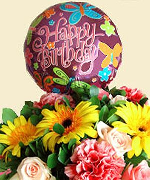 Hurrah For A Hy Birthday Add Some Omph And Ahs To Your Cheer With Balloonsonline Giftsflowers