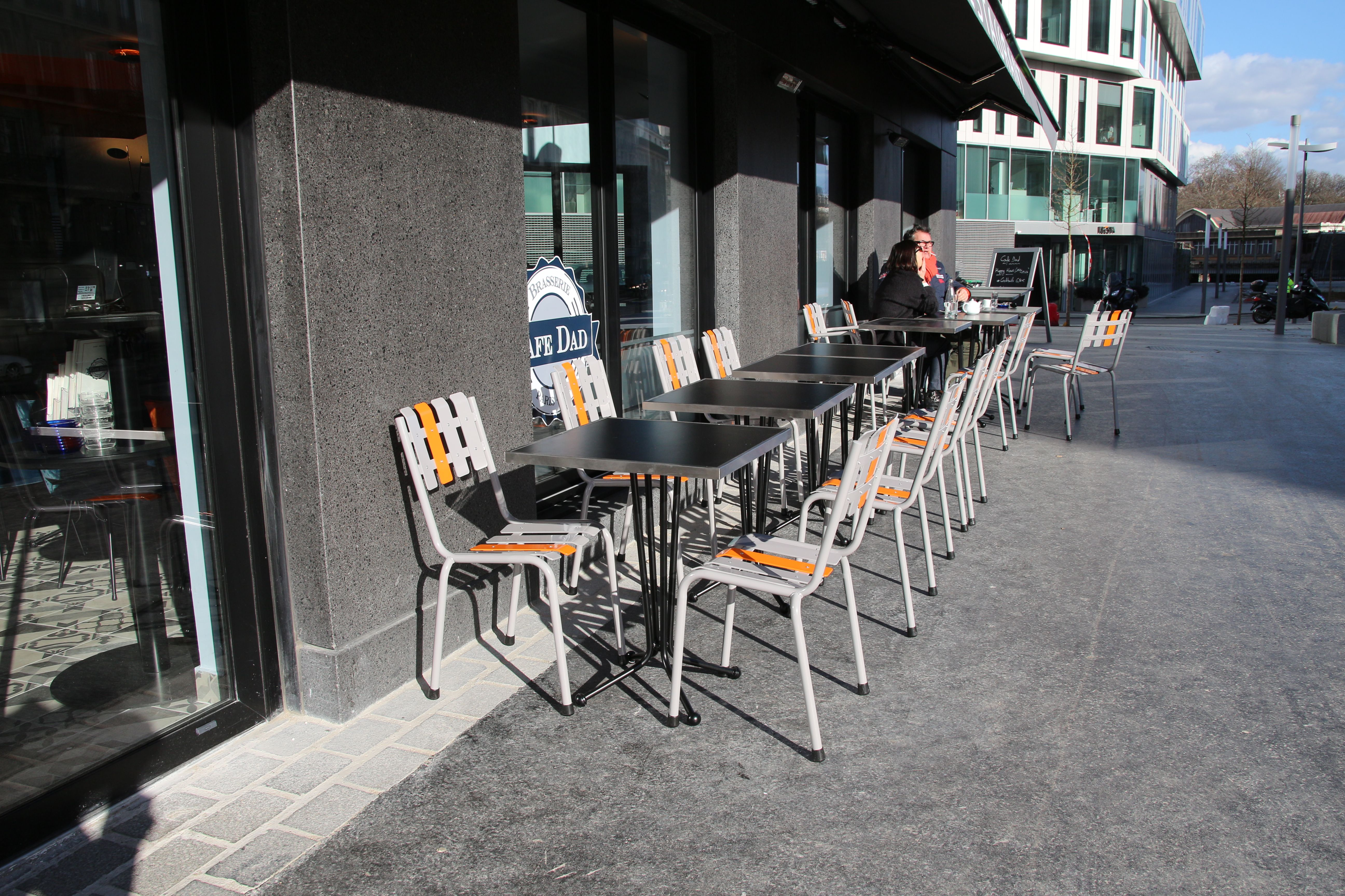 terrasse #restaurant #mobilier #furniture #seat #stool #fauteuil ...
