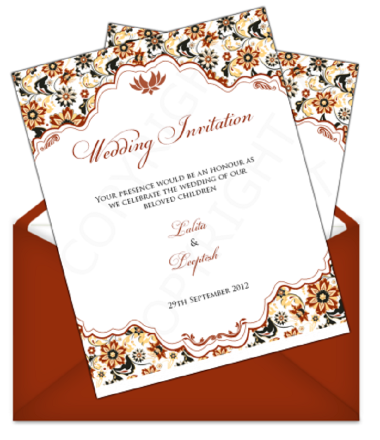 Indian Wedding Invitation Cover Page Wedding Invitations Indian Wedding Cards Indian Wedding Invitations