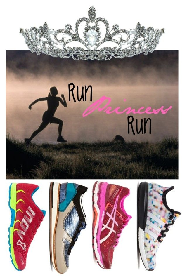 """my cinderella shoes"" by nenglita ❤ liked on Polyvore featuring Asics, Lanvin, Inov-8 and Kate Marie"