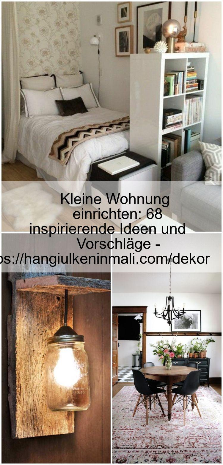 Kleine Wohnung einrichten: 9 inspirierende Ideen und Vorschläge