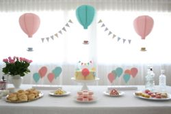 baloons theme baby shower