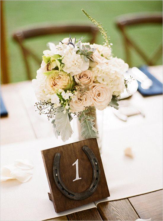 Pretty Perfect Polo Wedding Horse Wedding Wedding Table Numbers