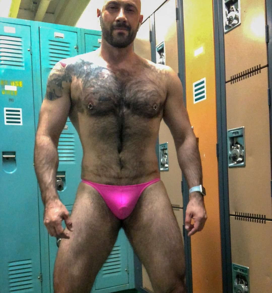 6c25982b1ef8 Gym, Pink, How To Wear, Swimwear, Thongs, Sexy Men, Fashion. Visit. March  2019