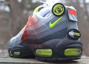 NIKE AIR MAX 95 V SP PATCH PACK [WHITE NEON YELLOW BLACK