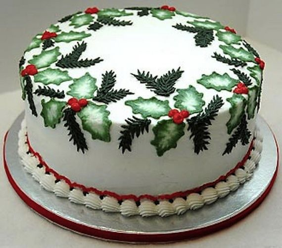 Awesome Christmas Cake Decorating Ideas From A Simple Traditional Fruit Cake  To A Christmas Cake To Enjoy A Festival Holiday Traditionally Made.