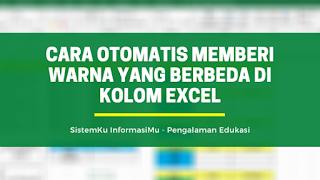 Memberi Warna Berbeda Pada Kondisi Teks Tertentu Di Excel Di 2021 Microsoft Excel Teks Warna