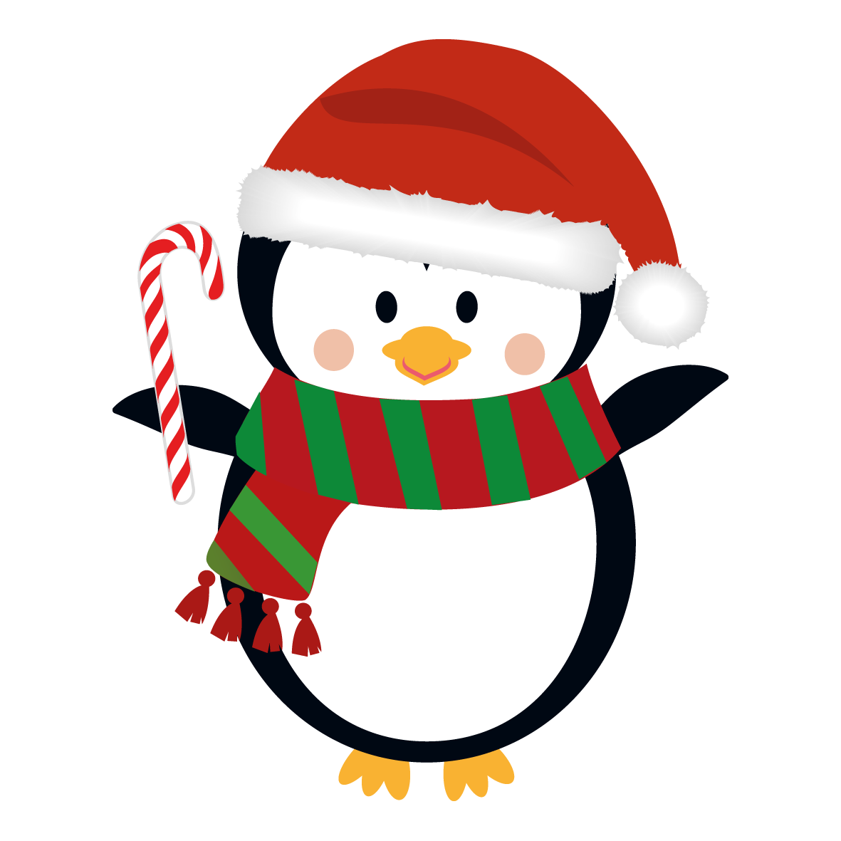 Penguin Christmas Natal Navidad