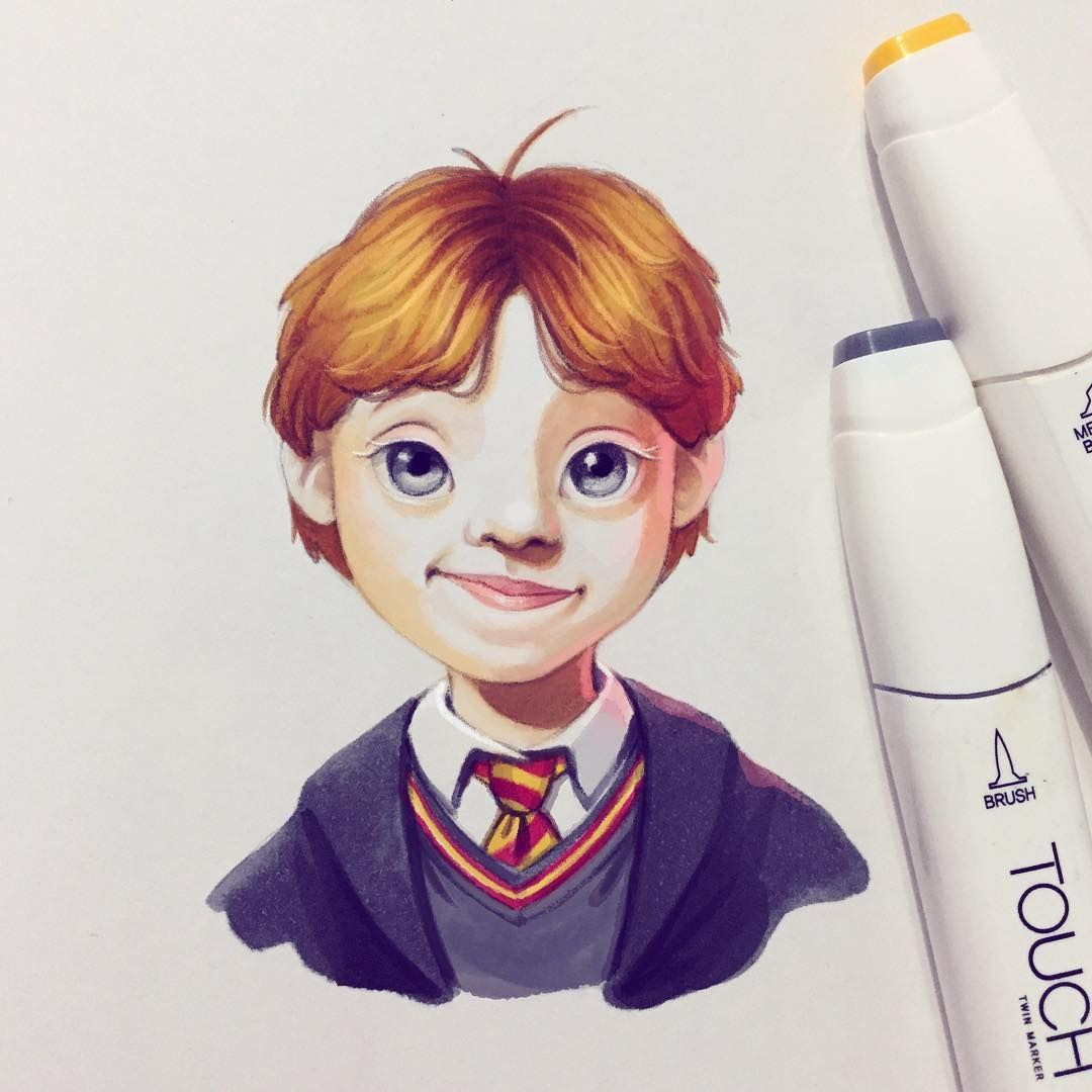 Ron weasley by lera kiryakova harry potter pinterest - Rone harry potter ...
