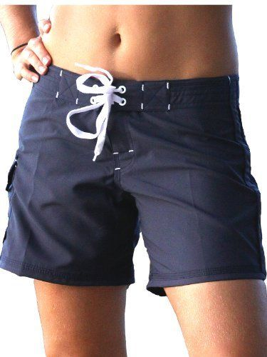 Maui Rippers Board Shorts - Women's Lifeguard Short - 13 - Navy by Maui, http://www.amazon.com/dp/B0089NTEWU/ref=cm_sw_r_pi_dp_C801qb11PAVPF