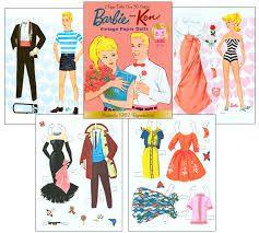image result for cucas para vestir de barbie paper dolls