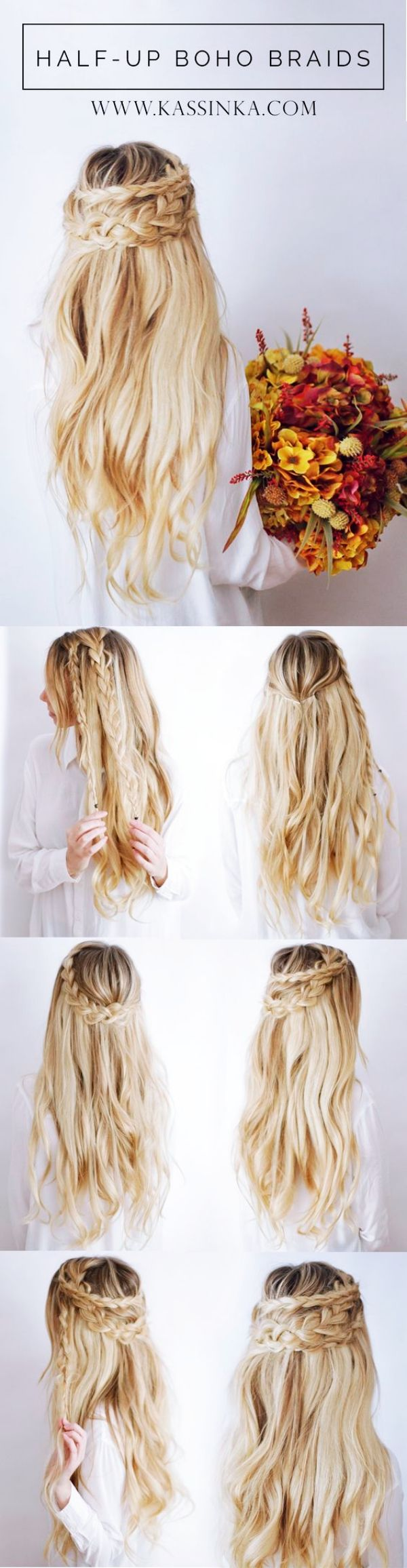 40 Gorgeous Wedding Hairstyles For Long Hair | Weddings, Hair style ...