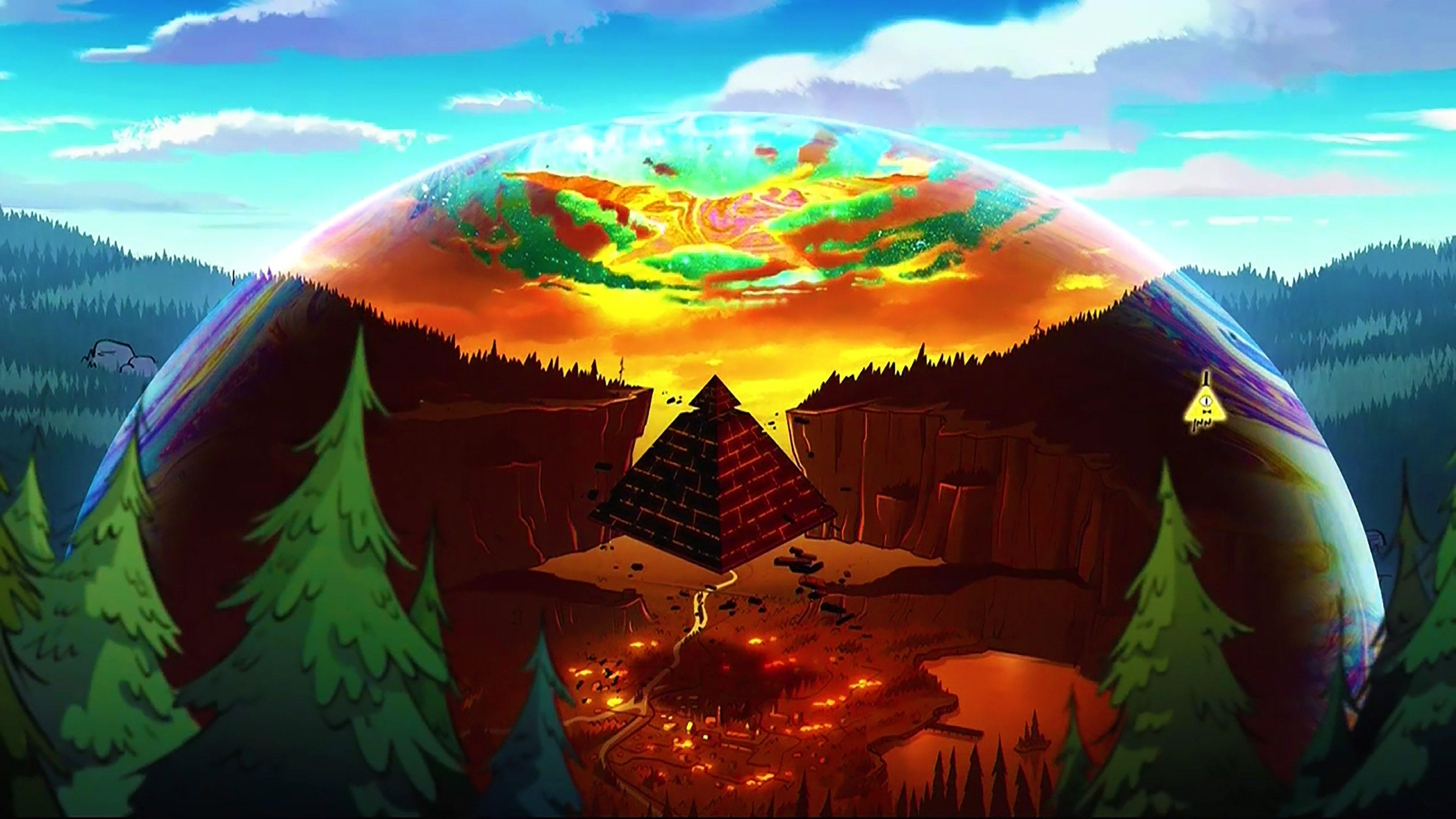 Gravity Falls Wallpaper 4K Wallpaper Zone (Dengan gambar)