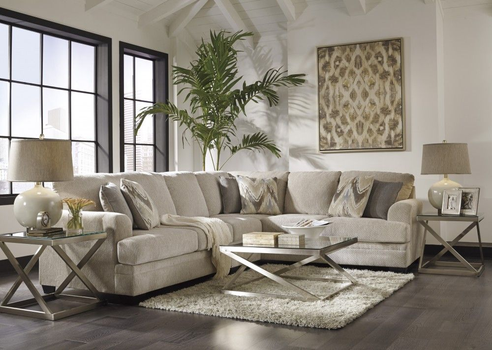 Ameer Sand 3 Pc Laf Loveseat Sectional Sectional Sofa Couch Living Room Sofa Furniture