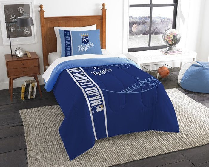 Use This Exclusive Coupon Code Pinfive To Receive An Additional 5 Off The Kansas City Royals Mlb Twin Printed Comforter Set At Sportsfansplus