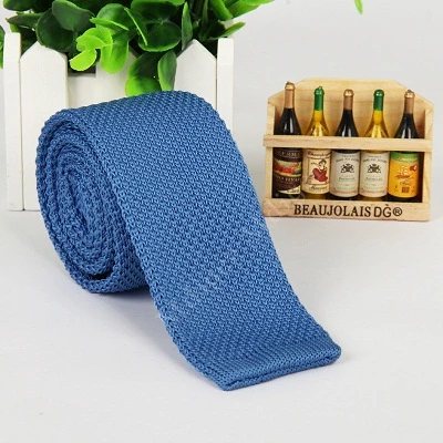 Mantieqingway 5cm Skinny Knit Ties For Men Knitted Necktie Wedding Knitting Slim Gravatas Mens Wool Tie Corbatas Vestidos Cravat  Mantieqingway 5cm Skinny Knit Ties For M...